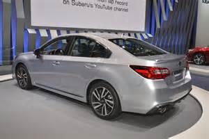 Subaru Legacy Vs Impreza 2018 Subaru Legacy Has A Hint Of Impreza In Chicago