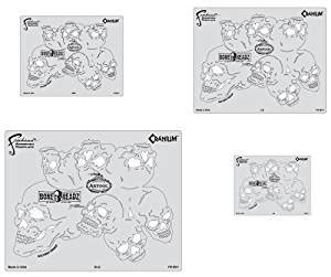 cranium card template buy artool freehand airbrush templates boneheadz template