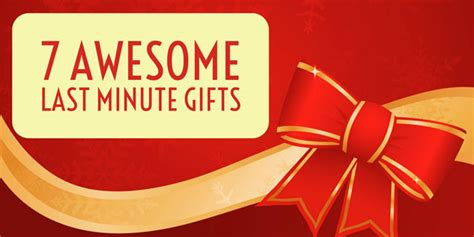 last minute gift ideas for 7 awesome last minute gift ideas techlicious