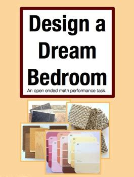 Design A Dream Bedroom Math Project | design a dream bedroom open ended performance task math