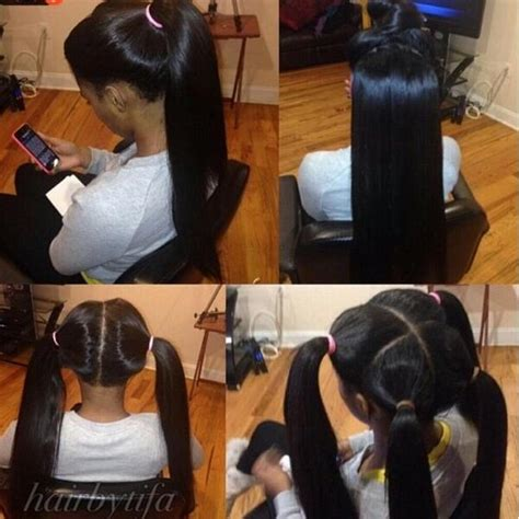 sew in hairstyles for black women 2015 full sew in weaves w invisible part male models picture