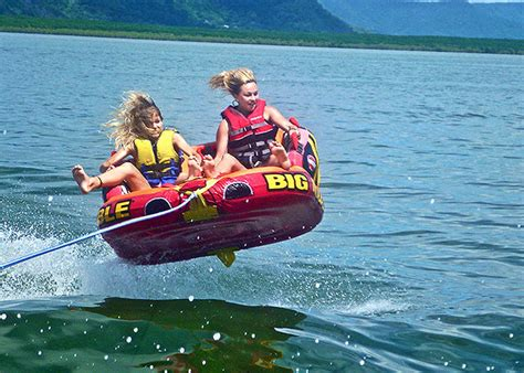 banana tube boat ride in goa great barrier reef tour bumper tube rides banana boat