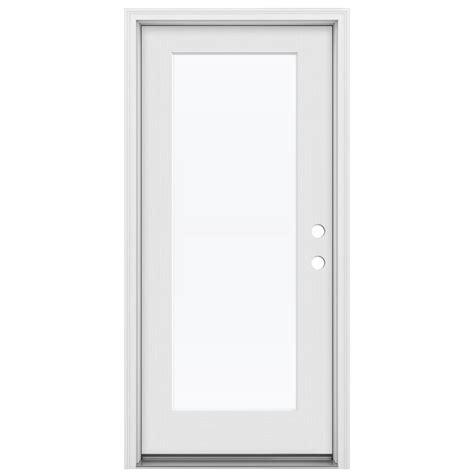 home designer pro open doors jeld wen 32 in x 80 in design pro full lite primed white