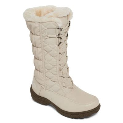 jcpenney boots clearance totes tracey womens insulated winter boots jcpenney