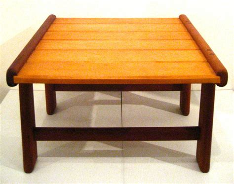 japanese bench danish modern noguchi style low japanese bench or stool at