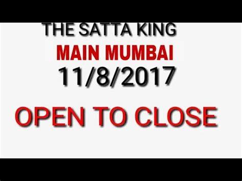 matka main mumbai open guessing number how main mumbai satta matka 11 august 2017 free game with