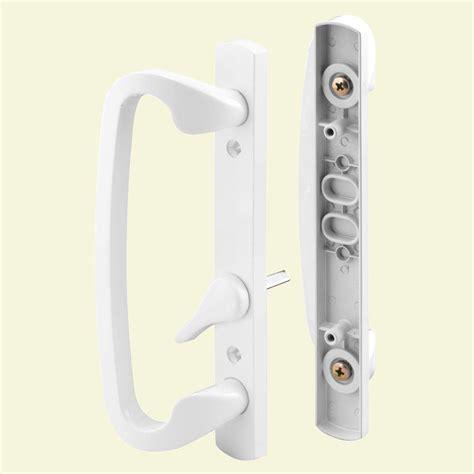 Window Treatments For Sliding Doors In Living Room Prime Line Patio Door Handle Set C 1280 The Home Depot