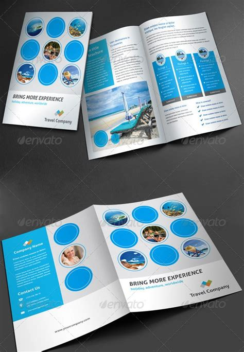 desain brosur di solo 17 desain brosur tour dan travel template download premium