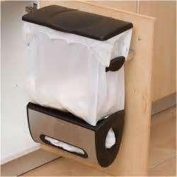 Door Mounted Garbage Can 5 Space Saving Solutions To Mount Inside Kitchen Cabinet