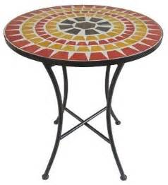 sonoma outdoors mosaic bistro table eclectic outdoor