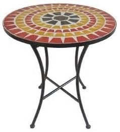 Garden Bistro Table Sonoma Outdoors Mosaic Bistro Table Eclectic Outdoor Pub And Bistro Tables By Kohl S