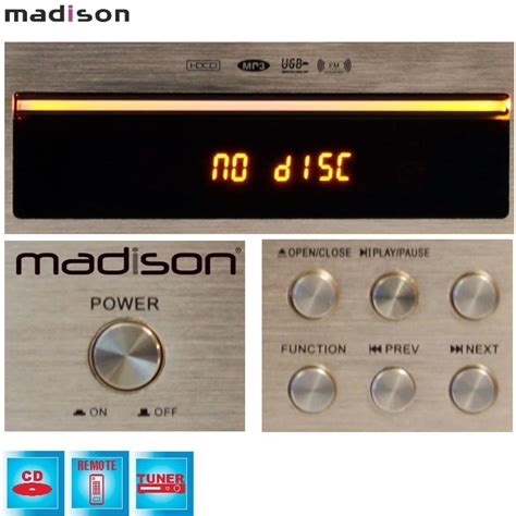 Tuner Mad by 79 Lecteur Cd Tuner Usb Ibiza Mad Cd10 Nlp