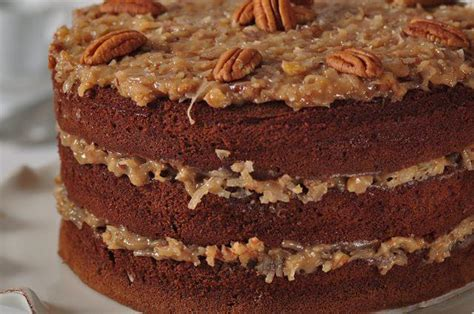 german chocolate cake recipe joyofbaking com video recipe