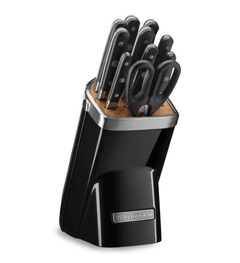 Professional Kitchen Knives Set Kitchenaid 174 11pc Professional Series Cutlery Set Kkfma11 Ebay