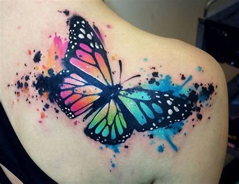 watercolor tattoos ma 25 best ideas about watercolor butterfly on