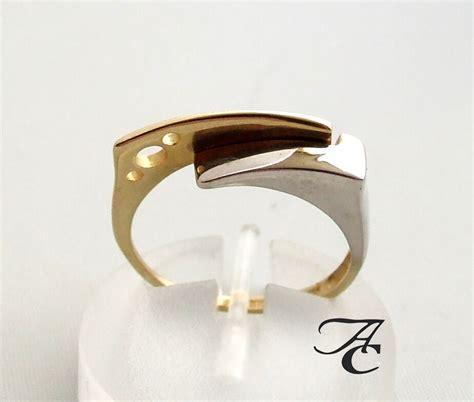 Bicolor Ring by Bicolor Gouden Ring Fantasie Kopen Bicolor Ring