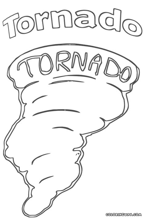 Tornado Coloring Pages Sketch Coloring Page Tornado Coloring Pages