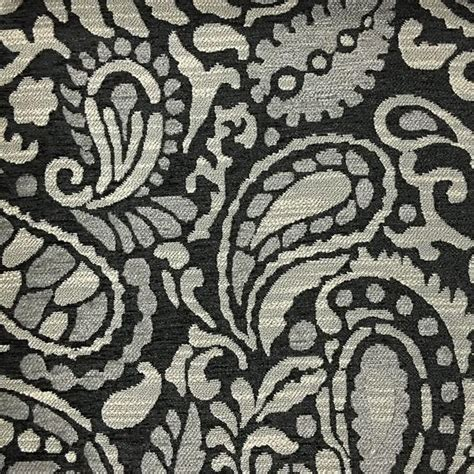 upholstery fabric sydney sydney modern paisley pattern chenille upholstery fabric