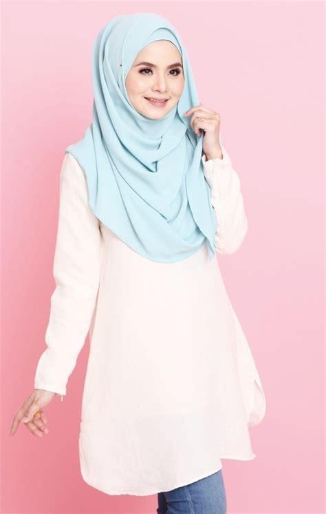 Blouse Muslim Baju Atasan Wanita Yuri Tunic heaxabell tunic heaxa baju dress wanita casual labuh muslimah