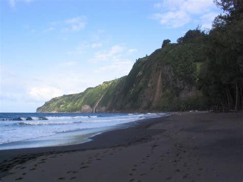 black sand big island black sand waipio big island hawaii