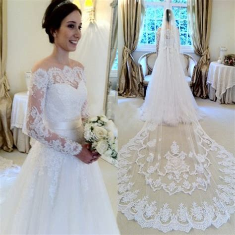 Lace Bridal Gowns by Mild White Lace Wedding Dress Bridal Gown With