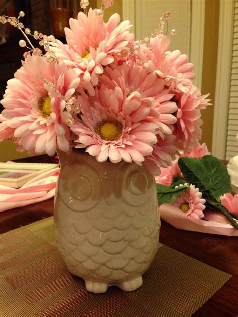 Owl Baby Shower Centerpieces by Baby Shower Owl Centerpieces