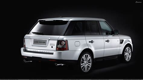 white range rover wallpaper 2010 range rover sport side back pose in white n black