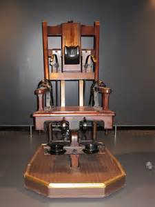 electric chair electric chair this chair was used to execute 300
