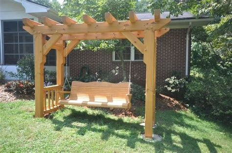 arbor swing plans free woodworking arbor swing frame plans plans pdf download