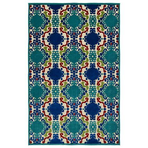 8 x 10 indoor outdoor rug kaleen five seasons navy 7 ft 10 in x 10 ft 8 in indoor outdoor area rug fsr101 22 710108