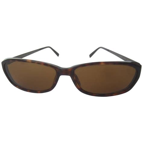 I Moschino Sunglasses by Moschino Tortoise Shell Brown Lucite Lens Sunglasses In