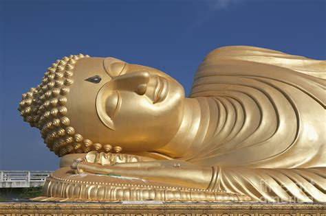 giant reclining buddha giant reclining buddha photograph by roberto morgenthaler