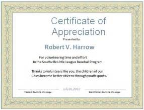 certificates templates word certificate of appreciation word template best business