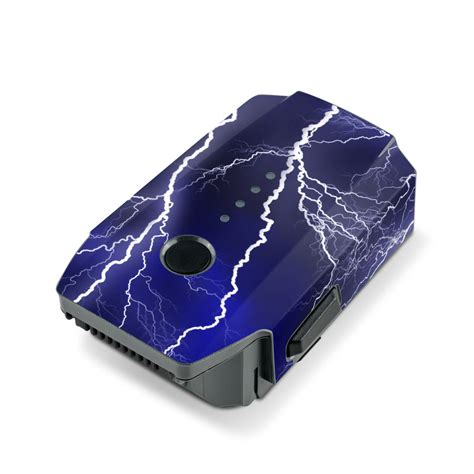 Stiker Skin Sticker Decal Dji Mavic Pro Blue Brushed Anodized dji mavic battery wrap apocalypse blue sticker skin
