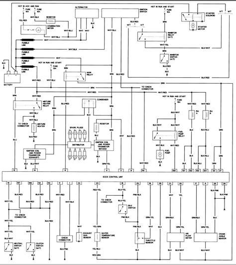 1996 nissan horn wiring diagrams wiring diagrams