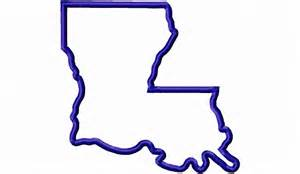 Louisiana Boot Outline by Applique State Of Louisiana Machine Embroidery Design