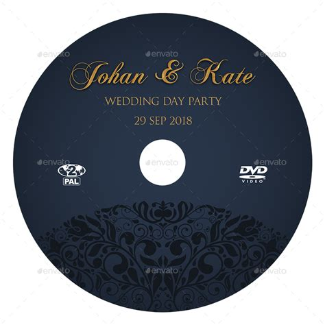 dvd disc label template wedding dvd cover and dvd label template vol 7 by