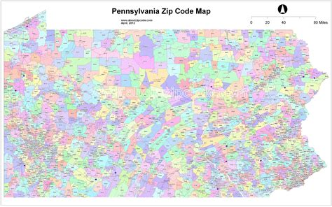 us area code pennsylvania zip code map images