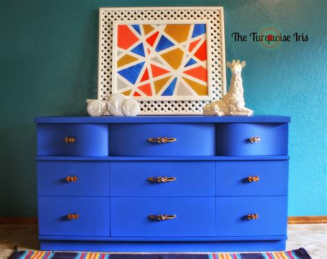 the turquoise iris furniture cobalt blue and gold