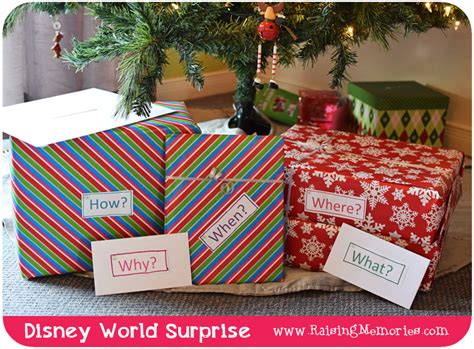 surprise gifts how to surprise your kids on christmas with a trip to