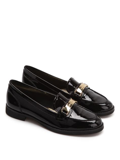 patent leather loafer patent leather loafer by michael kors loafers slippers