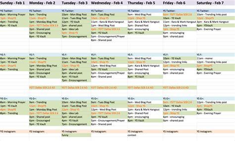 Calendã E Social My Content Calendar Jacob Eckeberger