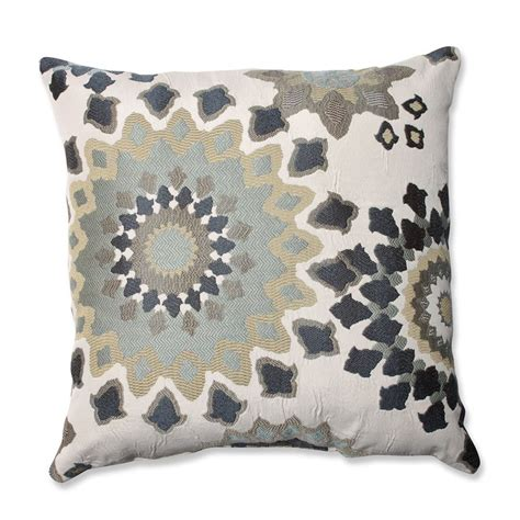 pillows throws decor shop pillow 18 in w x 18 in l marais