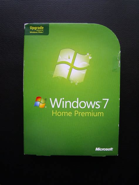 microsoft windows 7 home premium upgrade xp vista dvd