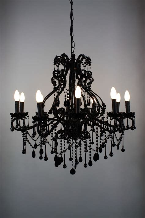 Black Chandelier Meaning 12 Best Collection Of Large Black Chandelier