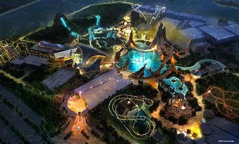 theme park hero marvel dubailand theme park concept art concept art world