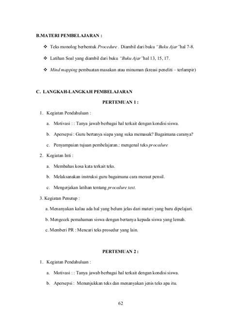 teks prosedur membuat teh dalam bahasa inggris teks prosedur tentang lingkungan dalam bahasa inggris ptk