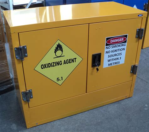 oxidizing agents storage cabinets esl industries limited