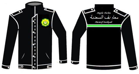 desain jaket santri ngadain almamater majelis talim maarif sadiyah majelis
