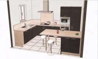 nouveau plan de la cuisine am 233 nag 233 e les 233 de